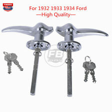 Outside Locking Door Handles For 1932 Ford 3 Window 1933 1934 For MATCHING LOCKS