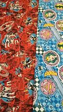 New-DC Comics Designs-100% Cotton Fabric-Various Super Girl/Bat Girl Designs