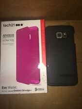His And Hers Samsung Galaxy S6 Edge+ Plus Tech21 Wallet , Bodyglove Cover Cases