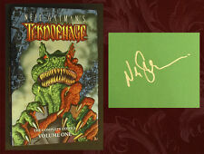 NEIL GAIMAN SIGNED - TEKNOPHAGE, Vol. 1 - Brand New 1st Ed HC Graphic Novel!