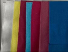 Lot of Different Colors of Felt