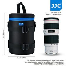 113x215mm Deluxe Lens Pouch Case Bag for Canon 70-200mm 28-300mm Nikon 80-200mm