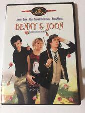 Benny &   Joon (DVD, 2004 Canadian). Johnny Depp Aidan Quinn Mary Stuart Masters