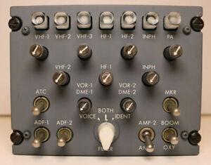 747-200/DC-10 Nav/Com Audio Panel Gables Engineering G-2651A