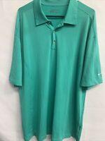 🌴Nike Mens Golf Dri-fit Men's Polo Shirt Short Sleeve Size XL🌴 Green Diamond