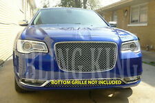 2015-2019 Chrysler 300 Chrome Mesh Grill Bentley Grille Full Replacement