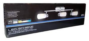 BRILONER LED Deckenleuchte 3er Leuchte Spot Strahler Lampe Schiene 5,5 W E14