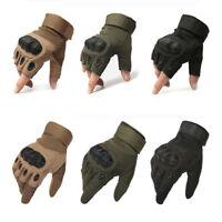 Tactical Military Cycling Gloves Men Winter Summer Full Half Finger Gloves