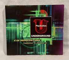 PlayStation Underground Vol. 3 Issue 3 (3.3) PS1 PSX Complete Tested