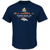 Denver Broncos Superbowl Winner 2016 T-Shirt ,NFL Football,Neu