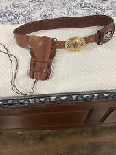 El Paso Saddlery Cowboy Rig with Sass accessories