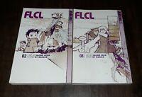FLCL Manga Volumes 1 & 2 ENGLISH Tokyopop Gainax