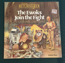 Star Wars Vintage Return of the Jedi The Ewoks Join the Fight Children's Book