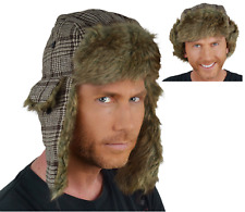 Quality Trapper Winter Hat. Extremely Warm. Tartan Faux Fur. UK Seller. Unisex