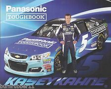 "2016 KASEY KAHNE ""PANASONIC TOUGHBOOK"" #5 NASCAR SPRINT CUP POSTCARD"
