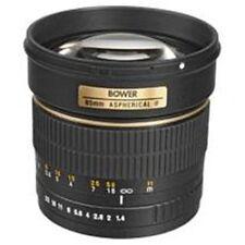 Bower 85 mm F/1.4 Portrait Lens For Canon DSLR Camera