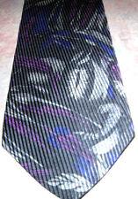 100 % Silk Woven Leaf Design Necktie by Weinstein's