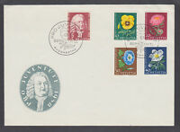 Switzerland Sc B277-B281 FDC. 1958 von Haller & Flowers, official cachet