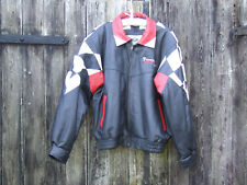 Vintage PONTIAC Racing Veste en cuir XL Officially Licensed Product-RARE!!!