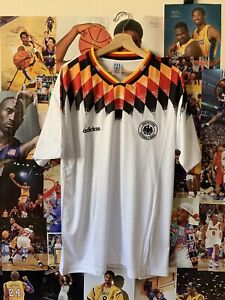 1994 Germany World Cup Jersey Size Large Retro Vintage