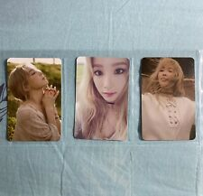 "TAEYEON SNSD Girls Generation 1st Album "" I "" Official Photocard Full Set Of 6"