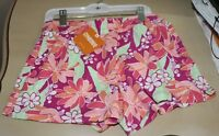 NWT Gymboree Floral Summer Shorts Girls Size L (10-12) - Comes With Hanger