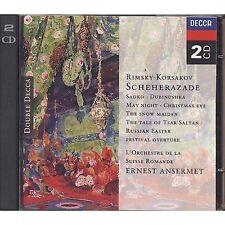 RIMSKY-KORSAKOV - Sheherazade - ERNEST ANSERMET - 2 CD USATO OTTIME CONDIZIONI