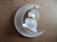 CHRISTMAS - Snowman Hanging Ornament - Rare Vintage Find
