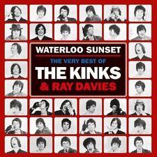Very Best of The Kinks Waterloo Sunset 2 CD Set VG Plus Sanctuary 371 248-2
