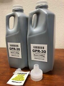 (2,000g) BLACK GPR-30 Toner Carrier mixed Refill for Canon C5045/5051/5250/5255