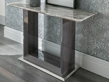 New Daniella Grey Marble Console Table