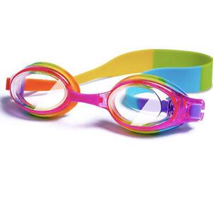 iToobe Kids Swimming Goggles for Girls Kids Age 3 to 14 Years Anti-fog UV No