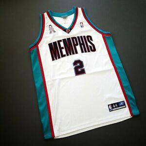 100% Authentic Jason Williams Reebok Grizzlies 911 Jersey Size 44 L XL Mens
