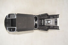 PORSCHE cayenne 958 2013 center console tunnel black leather with switches