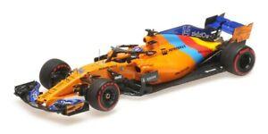 MINICHAMPS 537186414 1:43 McLaren Renault MCL33 Abu Dhabi 2018 F.Alonso #14