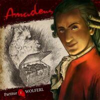 AMADEUS - WOLFERL (PARTITUR 1) AMADEUS (HÖRSPIEL)  CD NEW