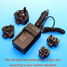 Home & Car Battery Charger For Canon NB-7L CB-2LZ Powershot SX30 IS Lenmar DLC7L