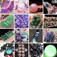 24 Type Wholesale Natural Quartz Crystal Gem Stone Mineral Healing Chakra Reiki