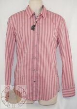 "Hugo Boss ""Ronny"" Mens Striped Button Down Shirt Size L (50259136 645), NWT"