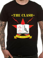 The Clash Know Your Rights T Shirt Official NEW Punk Rock Album Cover Black Med