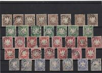 Bavaria 1876 used  stamps  ref 12407