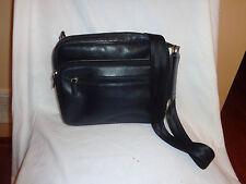 Cargo 800 Leonhard Heyden Black leather 3471 Hamburg Business Bag