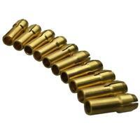10Pcs 0.5-3.2mm Small Electric Drill Bit Copper Mini Power Drill Tool Chuck Set