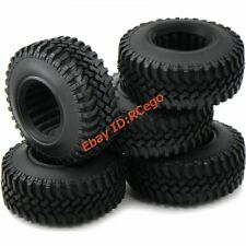 """5pcs New RC 1/10 100MM 1.9"""" Crawler Tires Tyres for rc4wd tamiya cc01 F350 Axial"""