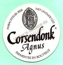 ancien sous-bock  CORSENDONK Agnus  (envoi monde gratuit) sb1128