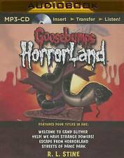 Goosebumps HorrorLand Boxed Set #3: Welcome to Camp Slither, Help! We Have Stran