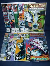 Robocop #5 - #13  NM with Bag and Board Marvel Comics Nine Issue Run