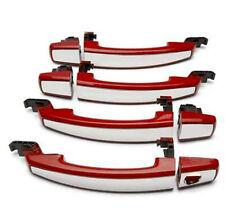 2012-16 Chevrolet Sonic Sedan Chrome Door Handle Kit Victory Red 95964665