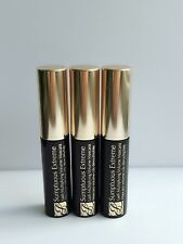 3 x Estee Lauder Sumptuous Extreme Lash Multiplying Volume Mascara Sample 2.8ml