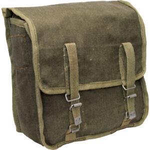 Polish Army Bread Bag Canvas Webbing Side Messenger Bag Pannier Satchel Fishing